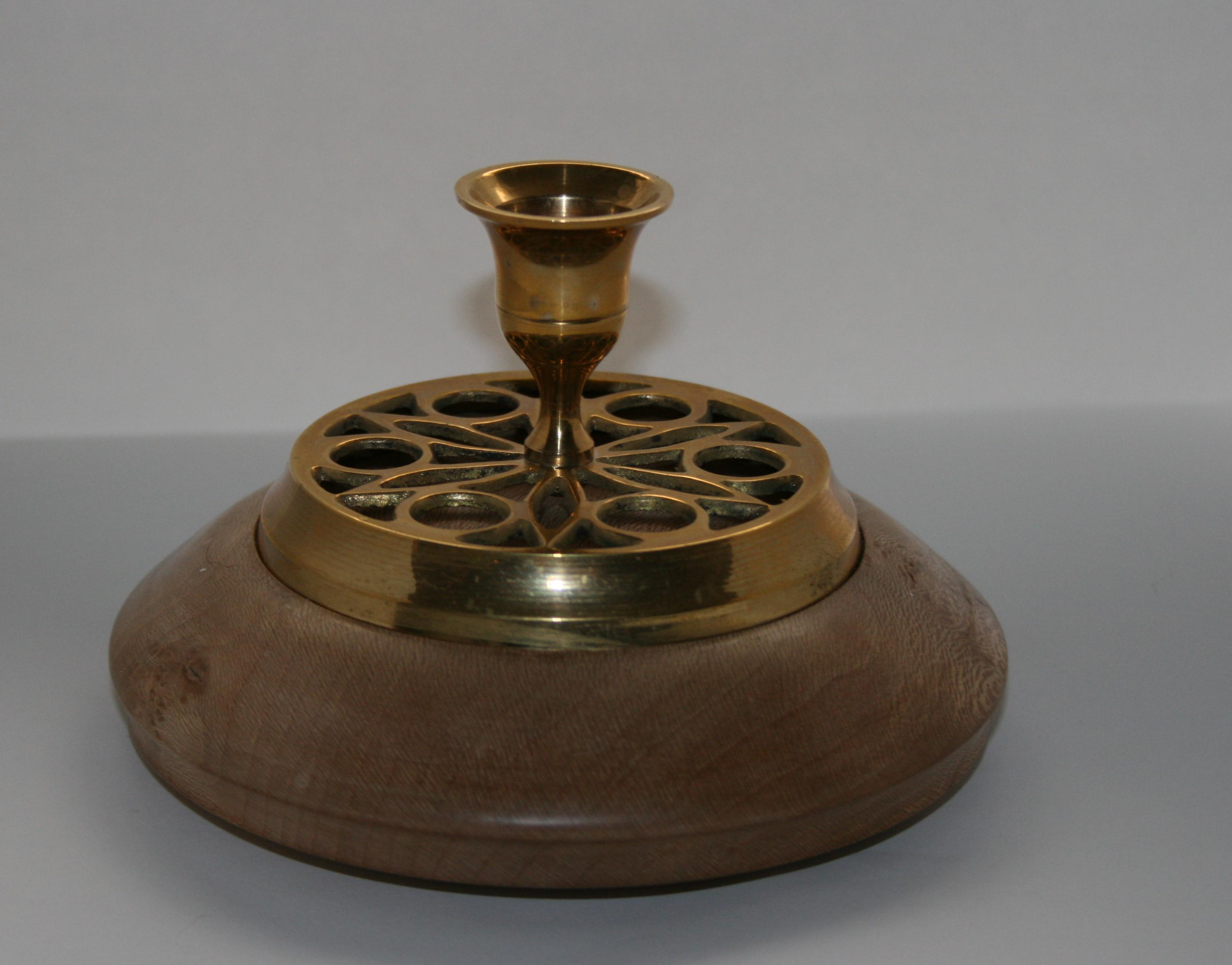 Candle Holder on London Plain base