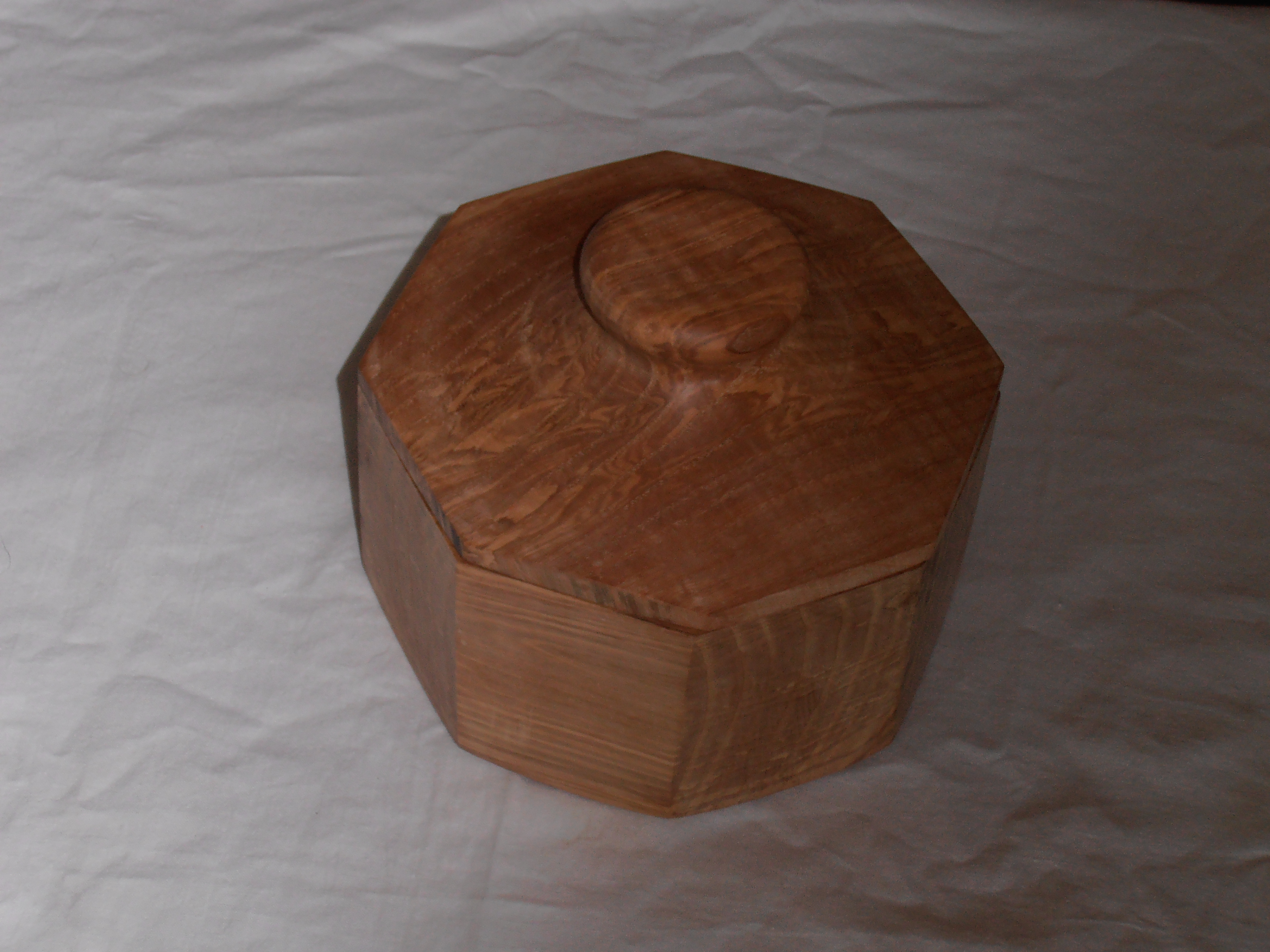 Eight Sided Ash box